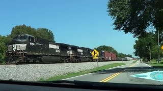 Jenkinsburg Area and Train Drive By 8 25 2015