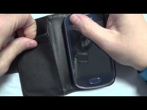 Samsung GALAXY FAME S6810 Wallet Case Review