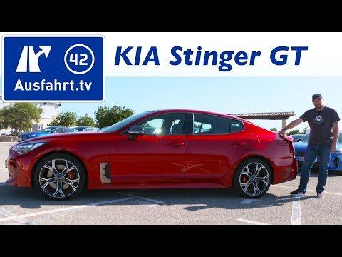 2017 KIA Stinger GT 3.3 T GDi AWD Kaufberatung, Test, Review