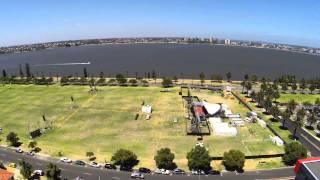 West Australian Symphony Orchestra Symphony in the City 2014 Time Lapse