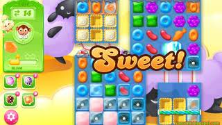 Candy Crush Jelly Saga Level 1614 (3 stars, No boosters)