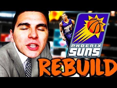 THE YOUNG GUN PHOENIX SUNS!! CHAMPIONSHIP POTENTIAL! NBA 2K16 MYLEAGUE