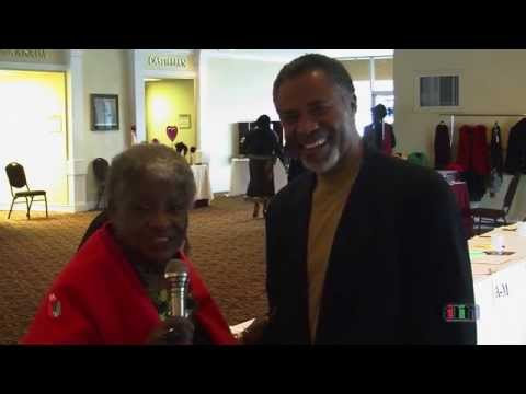 Queen Ann Cannon interviews President of the Silicon Valley Black Chamber of Commerce Carl Davis Jr.