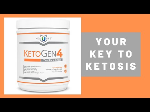 KetoGen4 by New U Life Weight loss and Much More - YouTube