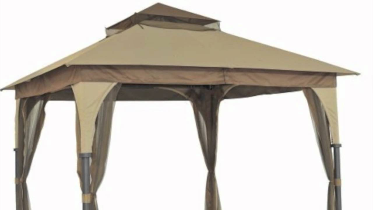 sc 1 st  YouTube & Target Outdoor Patio 8x8 Gazebo Replacement Canopy - YouTube