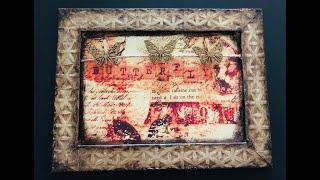 Mixed Media Vintage Photo Frame - ShokART Fancy Floral screenshot 5