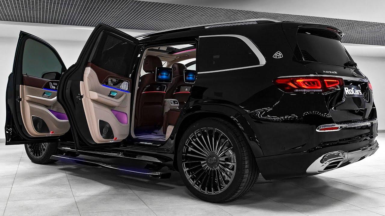 سيارة مرسيدس مايباخ GLS 600 الجديده 2021