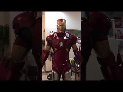 Killerbody Full Iron Man Suit - KB20003 Demo