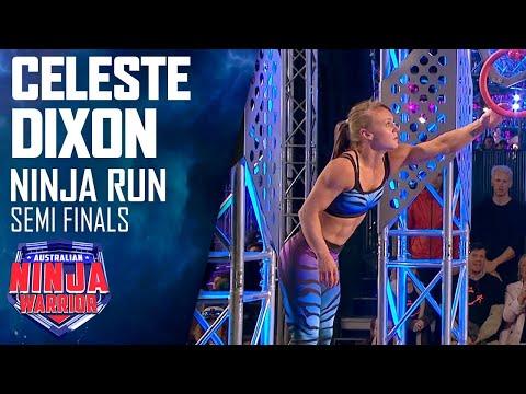 Celeste Dixon vows to overcome her mini-tramp demons   Australian Ninja Warrior 2019