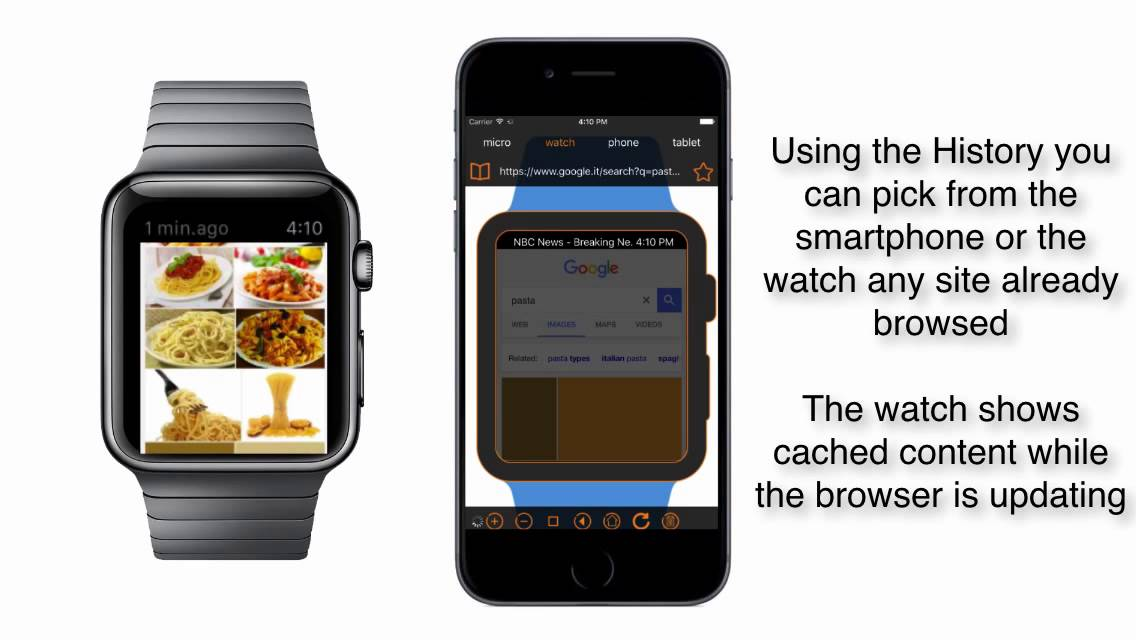 Web On Your Watch A Browser On Your Apple Watch Youtube