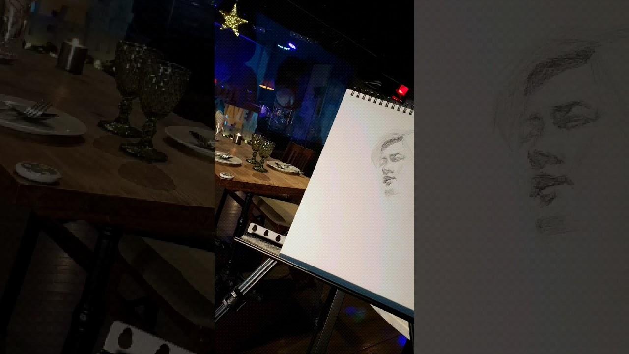 부활김재희/남혜경화가연필스케치전   💦 비와당신의이야기