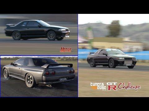 2015 GT-R Challenge - Australia's quickest street GT-Rs hit the runway.