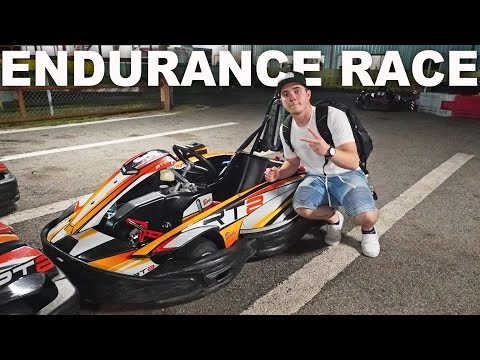 2 HOUR ENDURANCE RACE IN A SHIFTER KART