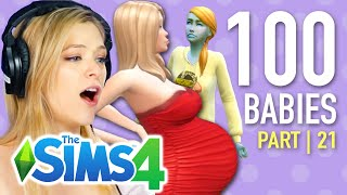 Single Girl Nearly Freezes Daughter To Death In The Sims 4 | Part 21