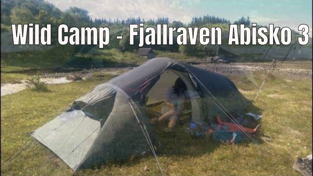 Ardnamurchan Wild Camp In Fjallraven Abisko 3 - YouTube