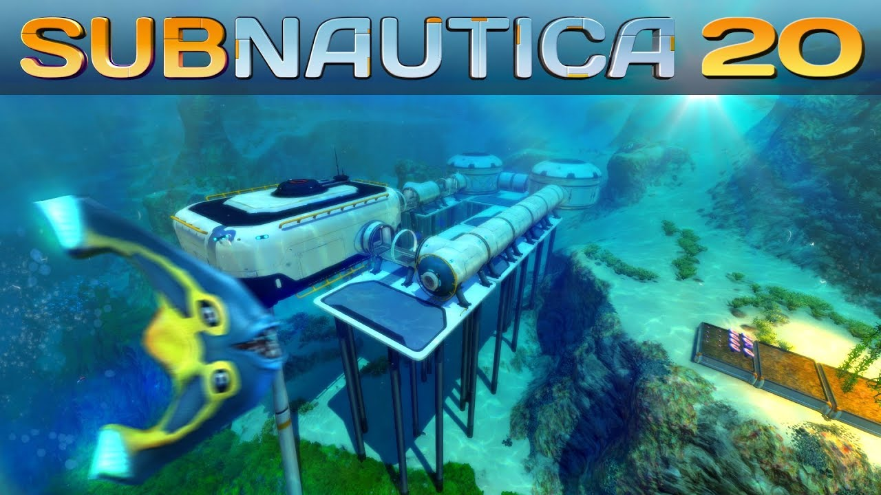 Subnautica Basenbau