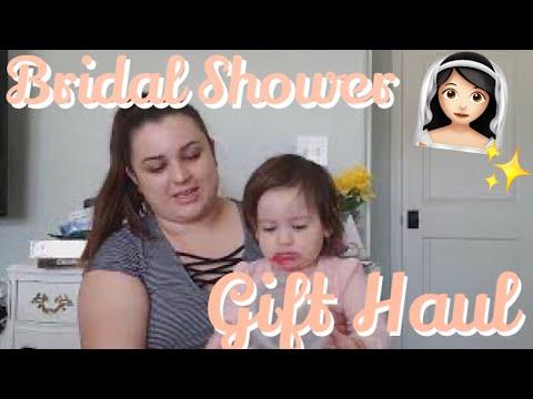 BRIDAL SHOWER GIFT IDEAS || DIY WEDDING