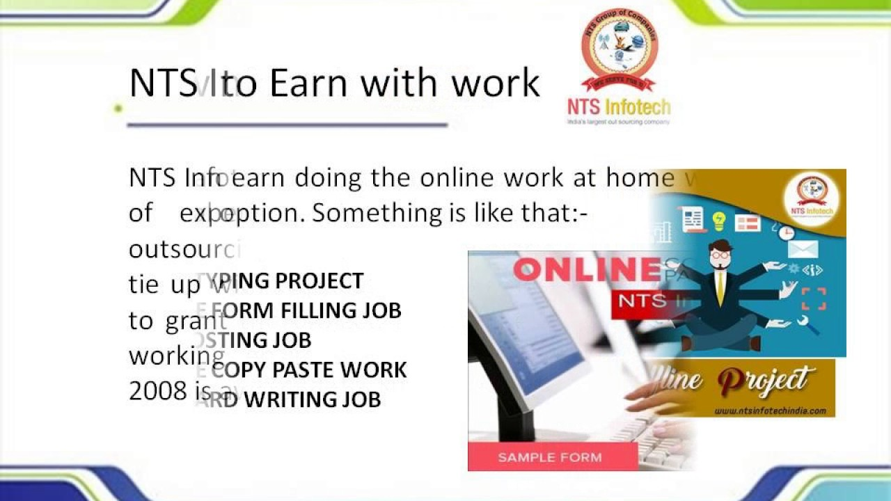 nts infotech work and earn online jobs nts infotech work and earn online jobs