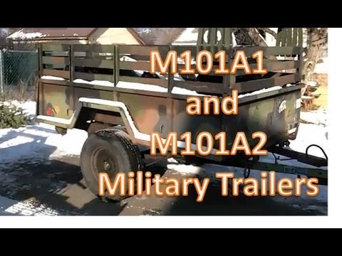 M101a1 and m101a2 trailers youtube m101a1 and m101a2 trailers swarovskicordoba Images