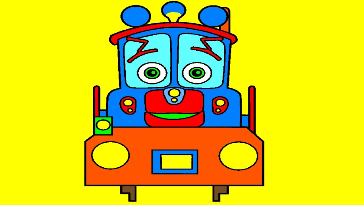 Coloring Pictures For Kids | Chuggington Coloring Pages - YouTube