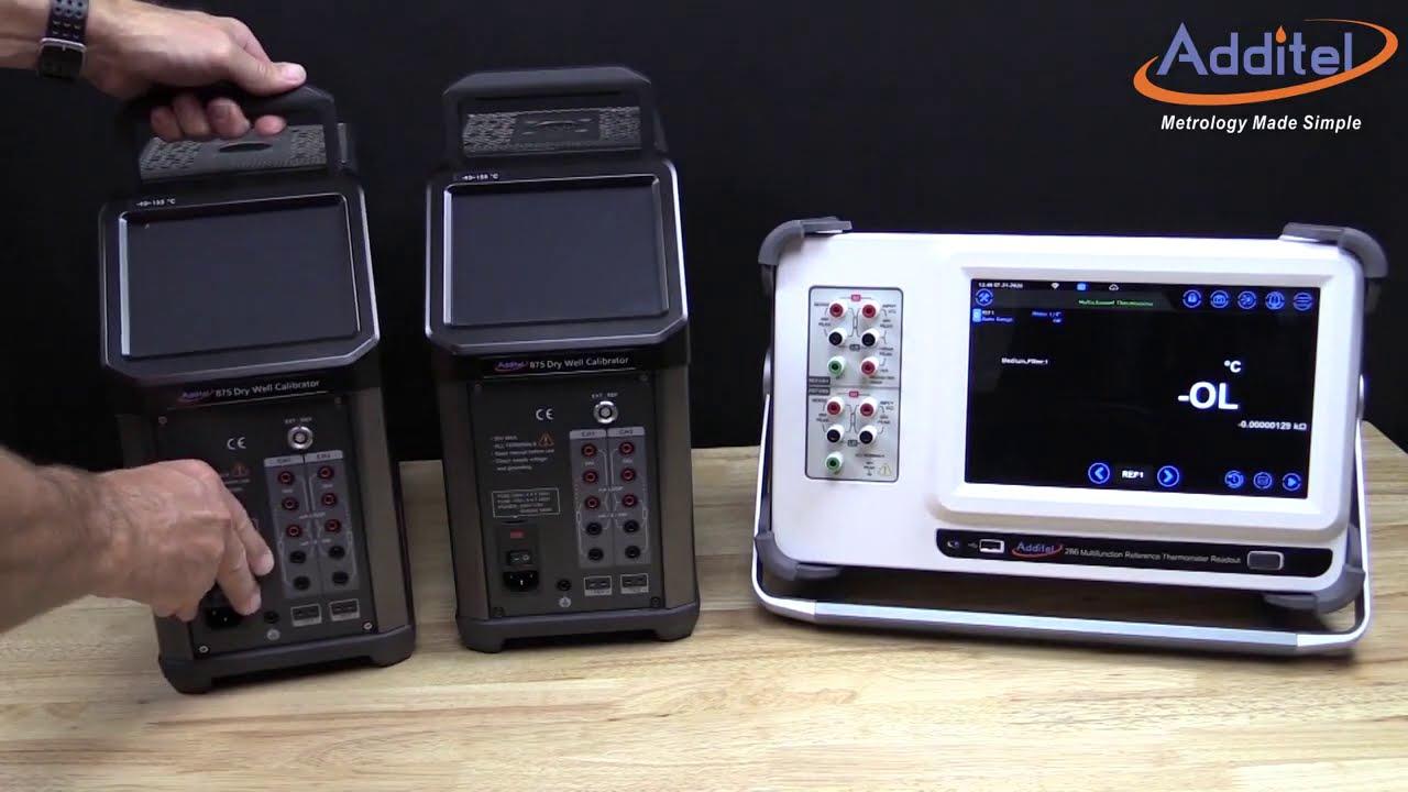 ADT286 Calibración de sondas de temperatura - YouTube