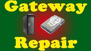 Gateway SX2110G-UW308 Hard Drive Removal