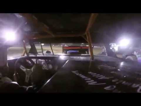 Mercer Raceway Park Stock Car Feature Race 8/16/14