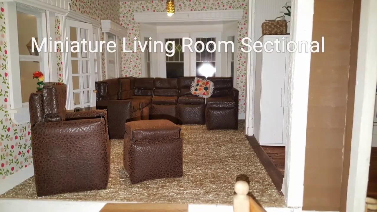 Living Room Furniture Sectional Set Build P1