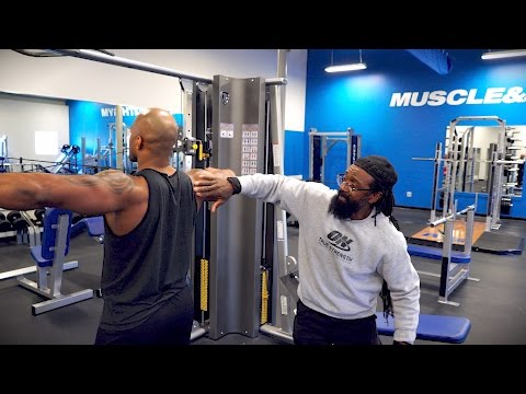 Training Fundamentals With Charles Glass - Pt. 1  Shoulders