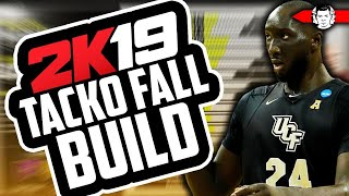 DEADLIEST CENTER BUILD IN NBA 2K19 - NEW TACKO FALL ARCHETYPE