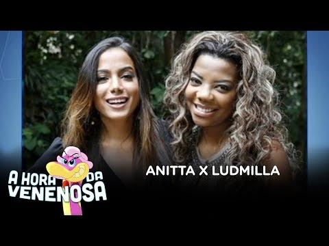 Ludmilla confirma desavença com Anitta