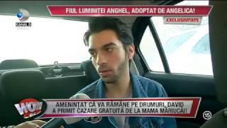 WOWBIZ - David Puscas (fiul Luminitei Anghel) se muta la Angelica Constantin