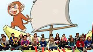 Mrs  Wilson's Monkeys on a Banana Boat