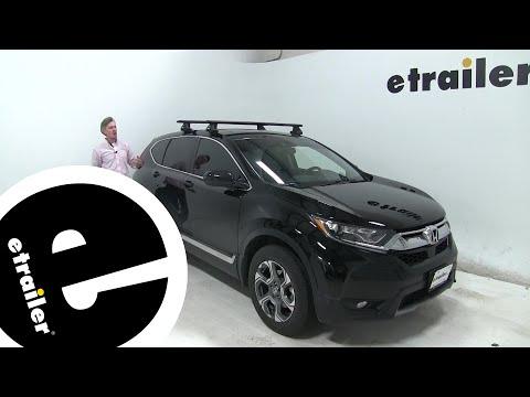 Etrailer | Thule WingBar Evo Crossbars Installation - 2019 Honda CR-V