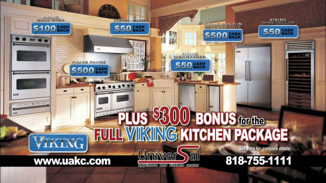 Viking Appliances At Universal Appliance And Kitchen Center