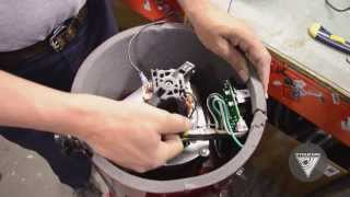 Replacement of the motor - Remplacement du moteur