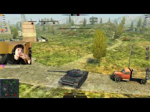 WoT Blitz - КАК правильно ТАЩИТЬ.Невозможный танковый БОЙ на Т-54 - World of Tanks Blitz (WoTB)