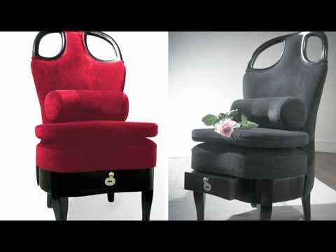 La courtisane : présentation d'une chaise érotique ! poster