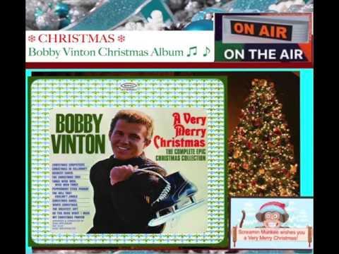 ❄ CHRISTMAS ❄  Christmas With Bobby Vinton ♪ ♫ ♪