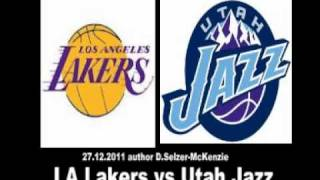 LA Lakers vs Utah Jazz NBA Basketball 27.12.2011 SelMcKenzie Selzer-McKenzie