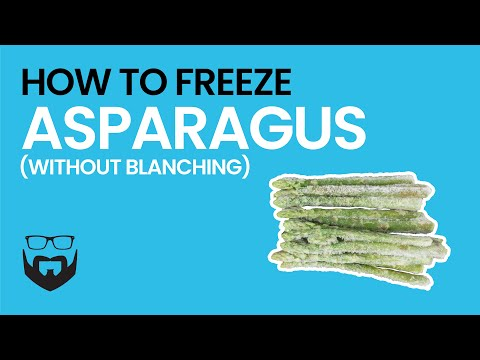 How to Freeze Asparagus without Blanching