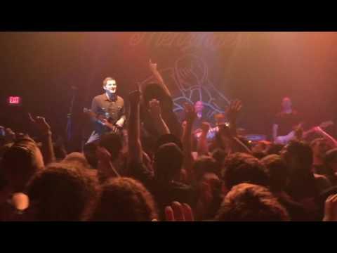 The Menzingers Live! (Gates) St. Petersburg, Fl. State Theatre 3/26/17