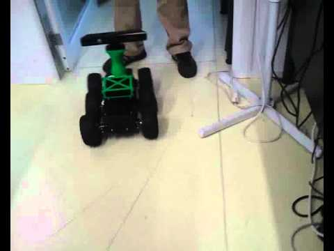 criif robot autonome tout terrain avec kinect et ros youtube. Black Bedroom Furniture Sets. Home Design Ideas