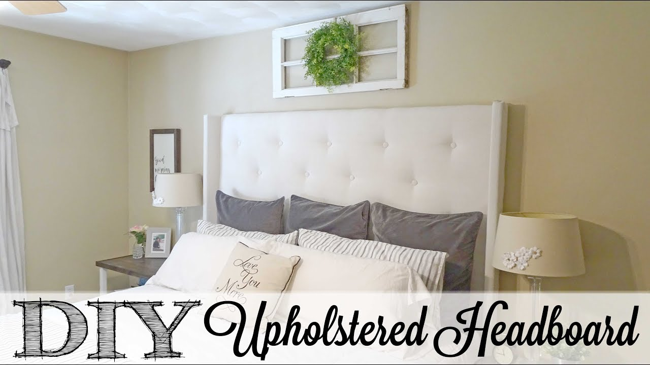 daydream super upholstered simple dream tufted headboard day diy tufter tutorial reality easy