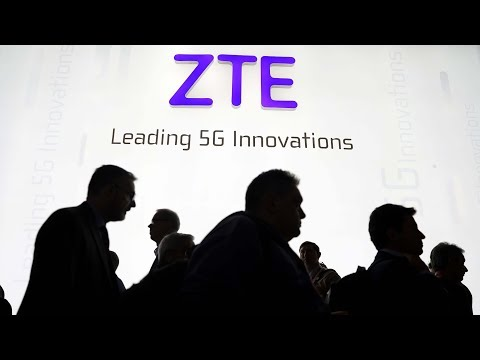 US bans companies from selling components to China's ZTE Corp for seven years