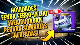 OLD IRON SLIT, CONSUMABLES BUGADOS NEWS! FORTNITE Update 10.10