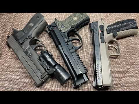 Sig Sauer 229 Legion, Wilson Combat Beretta, CZ Shadow 2! Which Is Better???