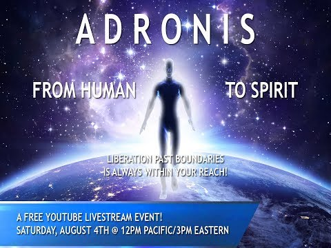 Adronis: From Human to Spirit FREE Webinar
