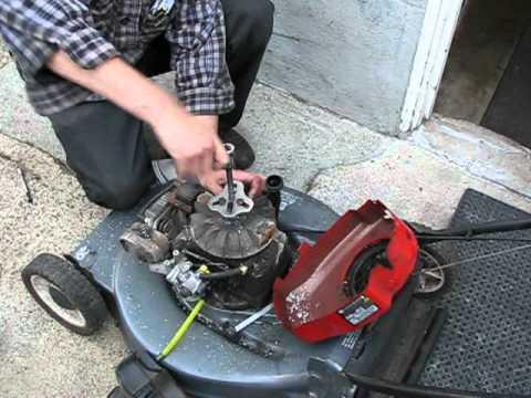 Lawn Mower Repair Tecumseh Flywheel R Amp R Timing Key