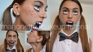 Marionette Makeup Tutorial | Halloween 2013 Thumbnail